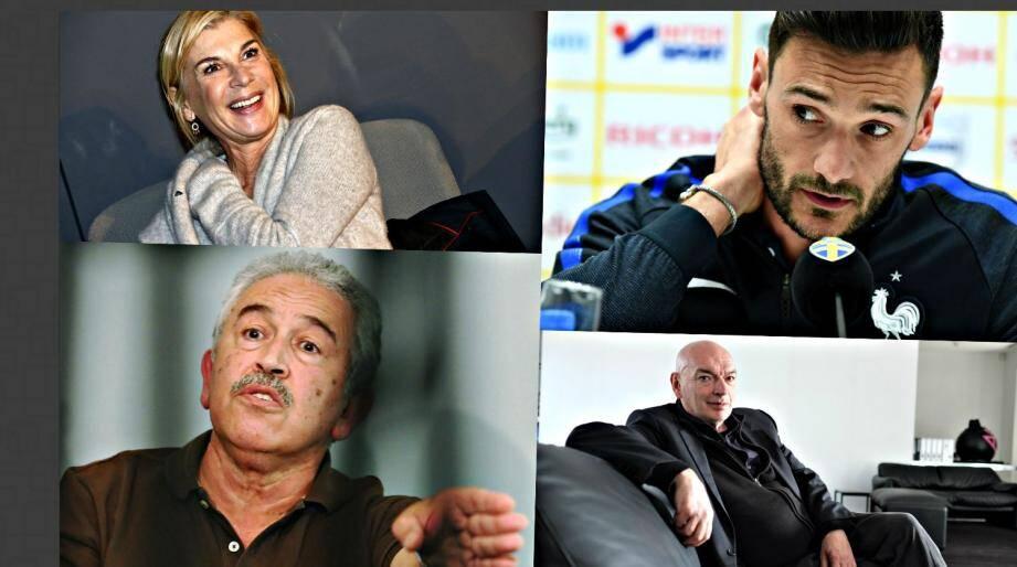 Michèle Laroque, Hugo Lloris, Stéphane Turk et Jean Nouvel vont faire parler de Nice en 2018