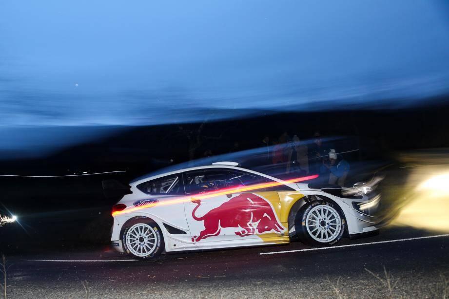 Sébastien Ogier et sa Ford Fiesta WRC s'élanceront en tête de Monaco le jeudi 25 janvier.