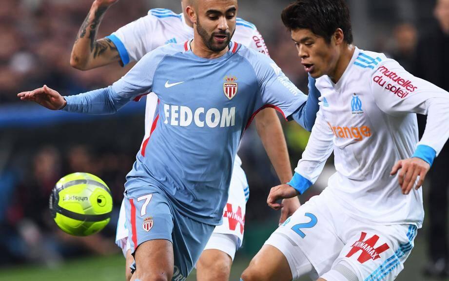 Rachid Ghezza face au Marseillais Hiroki Sakai.