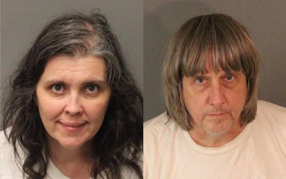 Les parents, Louise et David Turpin.