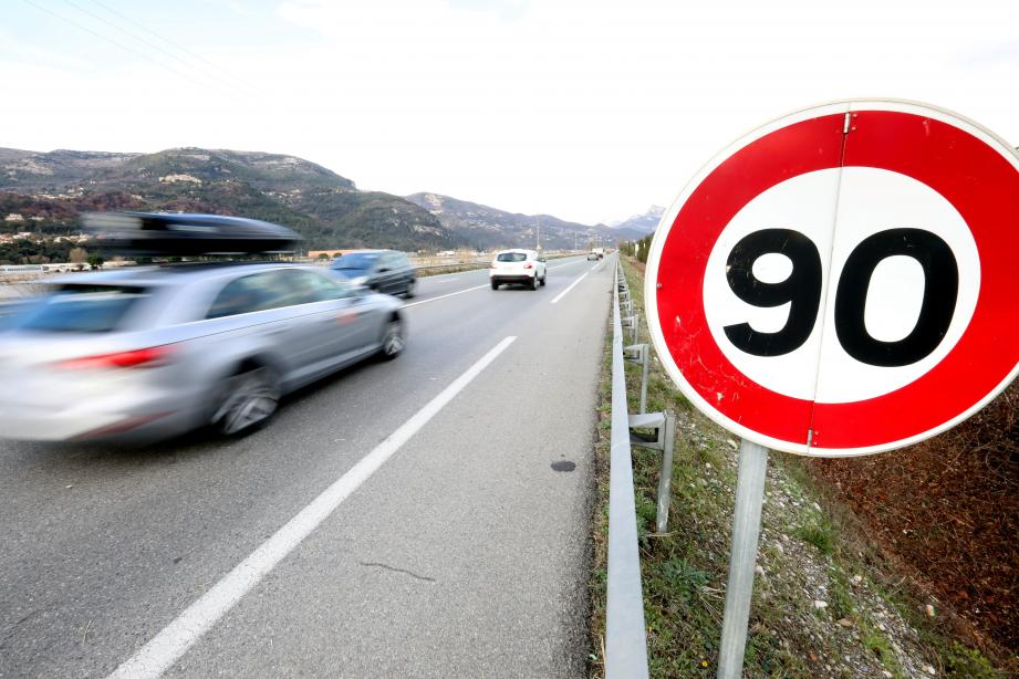 Illustration de la limitation de vitesse