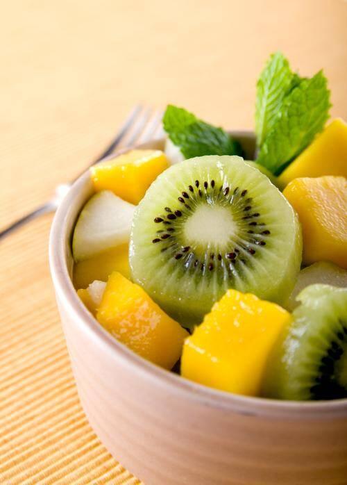 LA RECETTE DU JOUR.Tartare de fruits exotiques