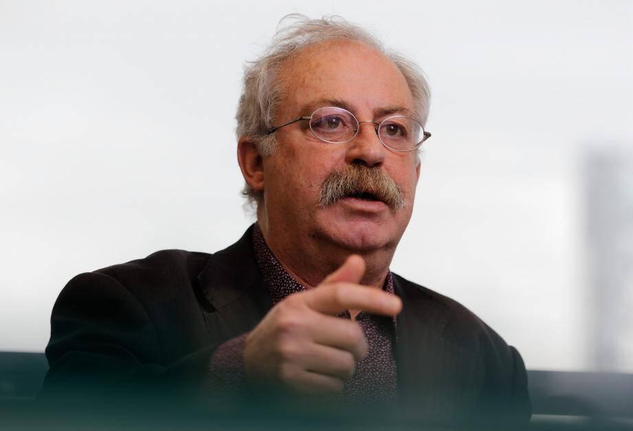Marc Vuillemot, maire de La Seyne-sur-Mer.