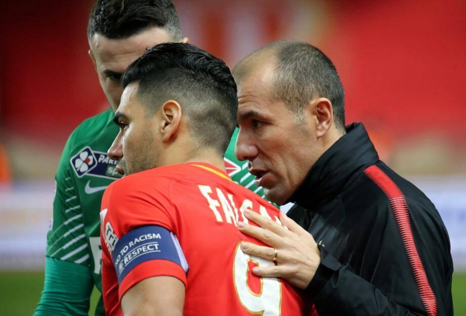 Leonardo Jardim n'était pas inquiet pour Radamel Falcao, muet depuis quelques matches.