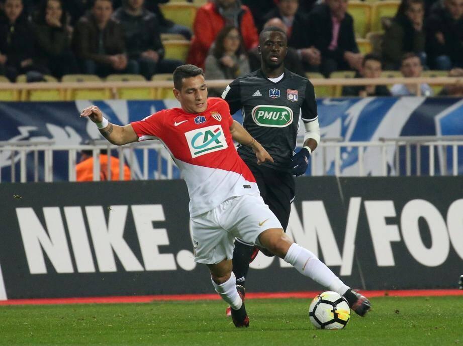 Rony Lopes et les Monégasques sont menés contre Lyon.