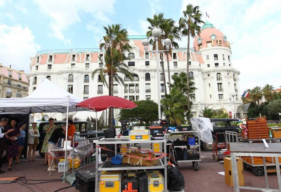 """Le film """"Un sac de billes"""" tourné à Nice en 2015."""