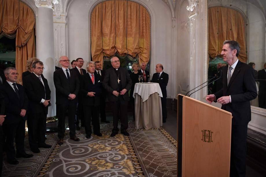 Gilles Tonelli, conseiller-ministre des Relations extérieures et de la Coopération, a présenté ses vœux à l'ensemble du corps diplomatique et consulaire étranger accrédité en Principauté.