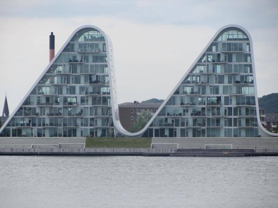 Les immeubles emblématiques de Vejle.