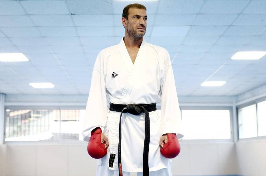Christophe Pinna sera sur les tatamis de Sainte-Maxime aujourd'hui.