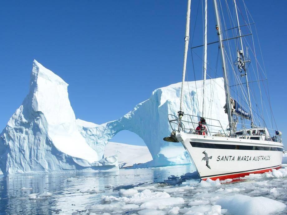 L'aventure se déroulera, du 12 au 26 février, à bord du Santa Maria Australis. Sur ce voilier, aménagé spécifiquement pour ce type de périple, le jeune skipper David Gamba (ci-dessous) représentera la principauté de Monaco.