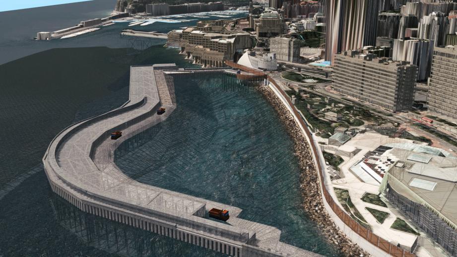 En fin d'année, les contours de l'extension devraient être visibles pour le grand public.