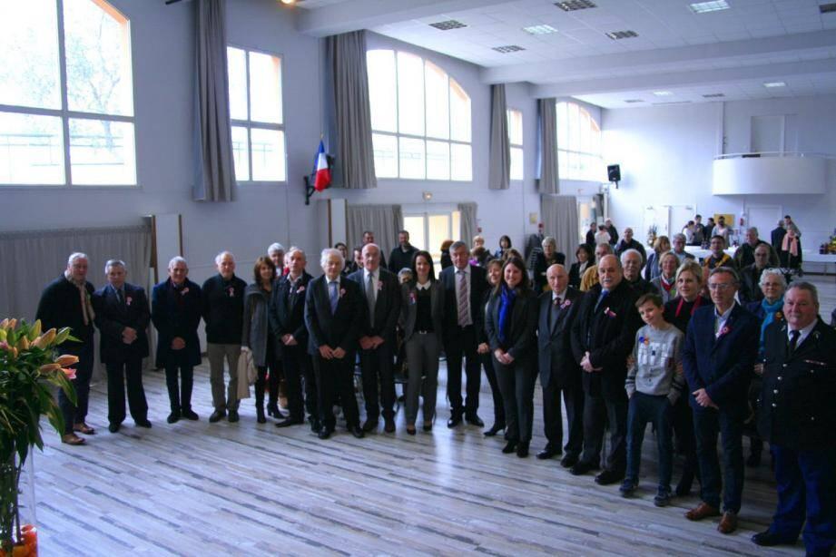 Administrés et élus réunis pour honorer le saint patron de la commune. Le maire, Jean-Paul Fabre, en a profité pour évoquer les projets et se projeter vers l'avenir.