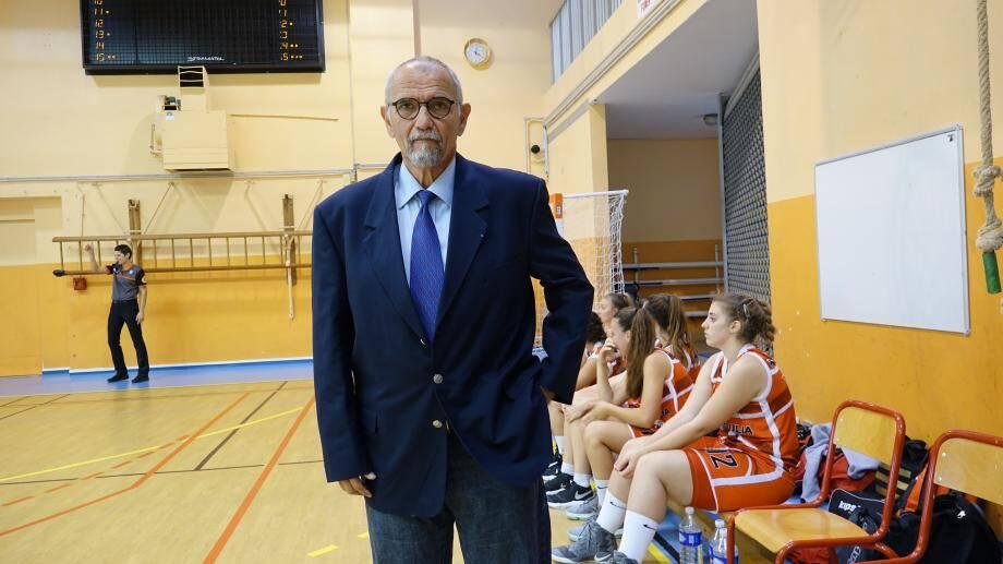 Jean-Pierre Perez, le coach.