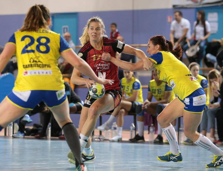 Linnea Torstenson et les Niçoises : place à la Coupe de France.