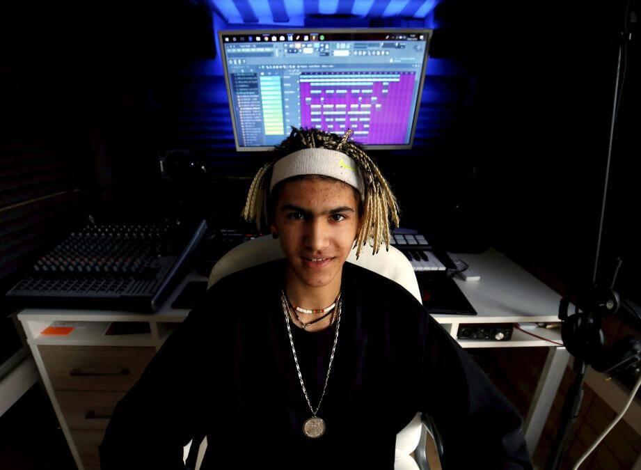 Les sons de Garfy approchent les deux millions d'écoutes sur son compte Soundcloud.
