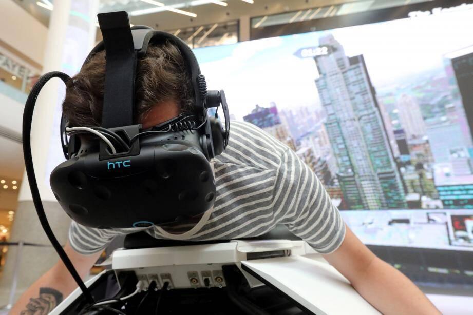 L'été dernier déjà, la réalité virtuelle était au menu pendant les vacances à Cap 3000.