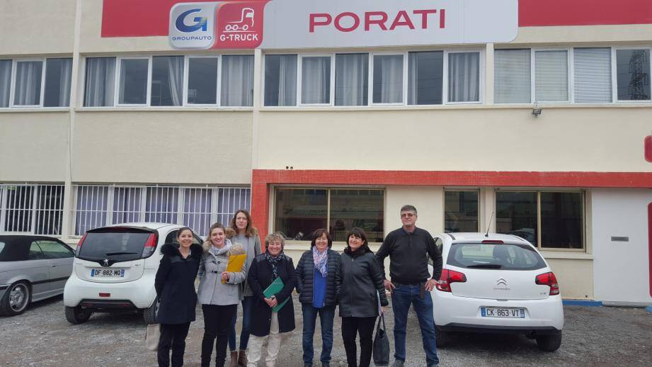 L'entreprise Porati, une société « Eaux Top », se classe première.