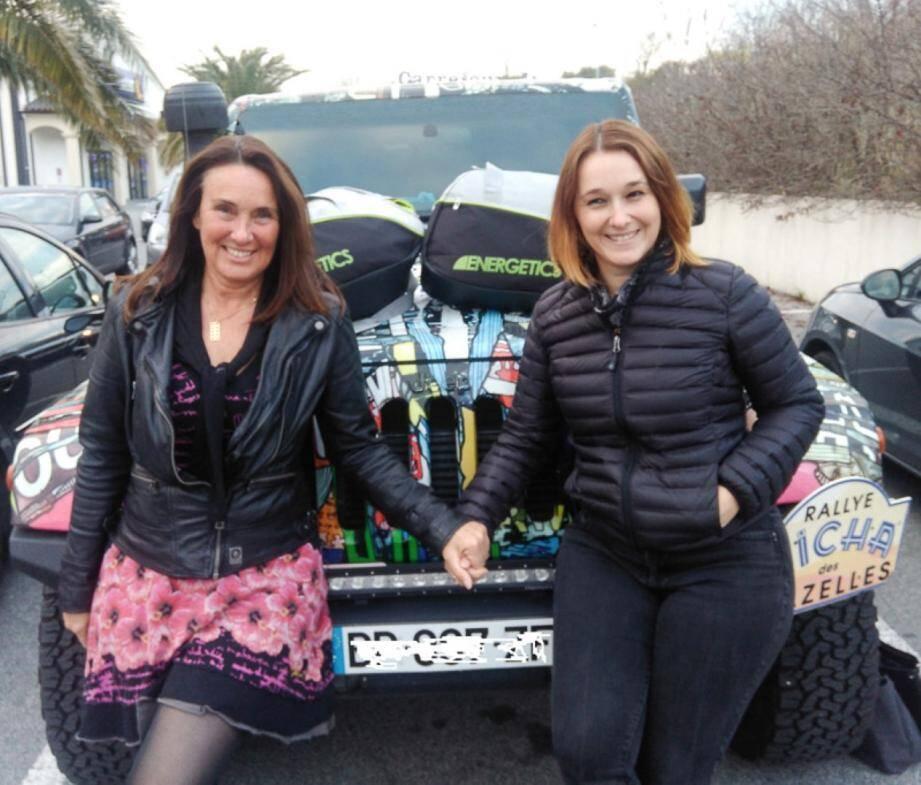 L'équipage 202 composé de Jeannette James et Emmanuelle Tarquini Dos Santos.(DR)