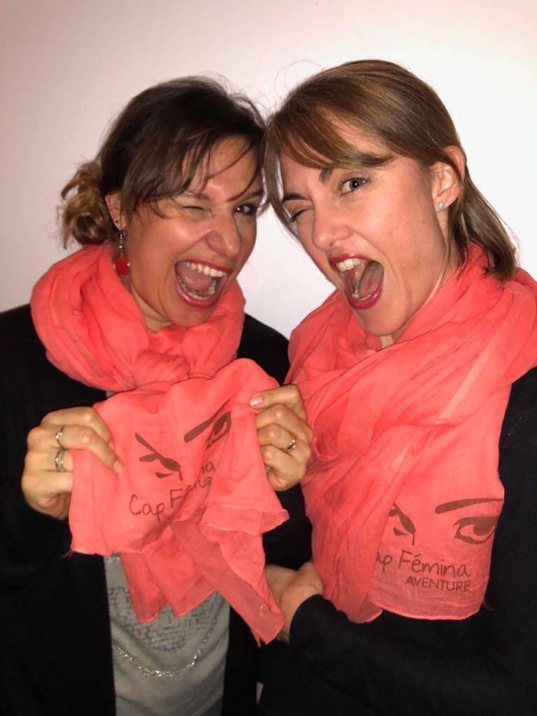 Carole et Isabelle préparent le raid Cap Fémina Aventure qui aura lieu du 3 au 14 octobre.