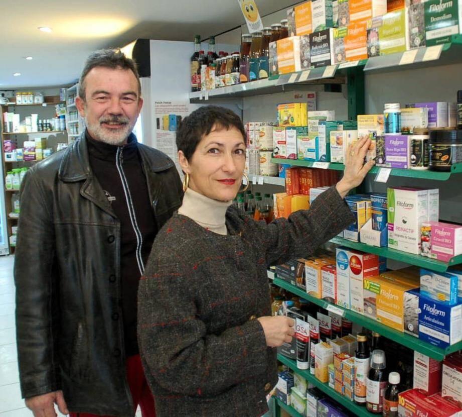 """Magali et Gilles Brun, nouveaux propriétaires exploitants du """"Biossétan""""."""