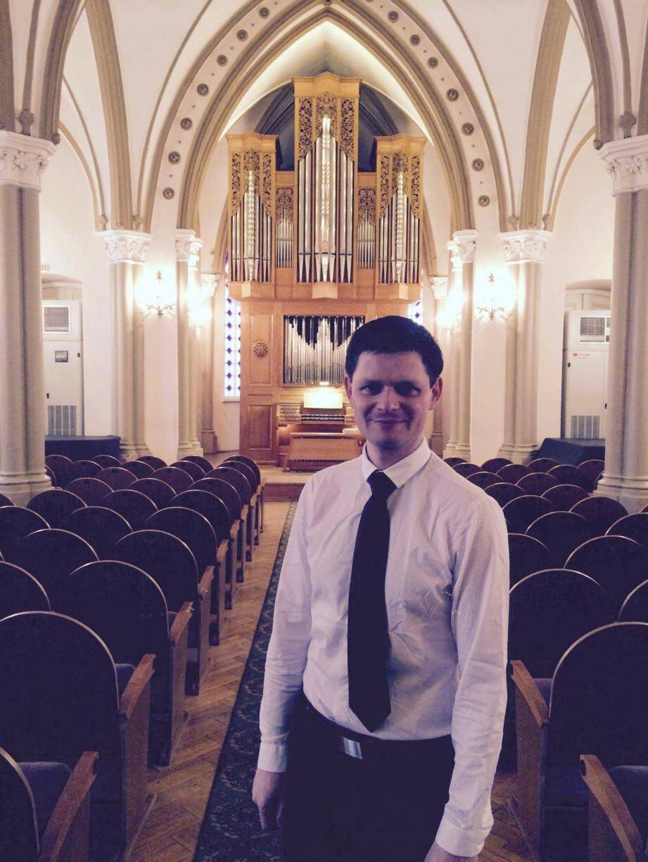L'organiste Guillaume Nussbaum(DR)