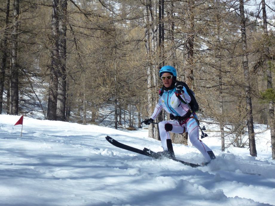 Marianna Jagercikova en pleine action.
