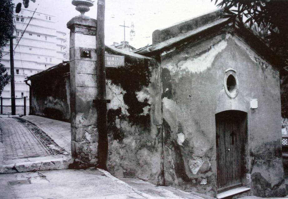 La chapelle de l'Annonciade vers 1965.(DR)