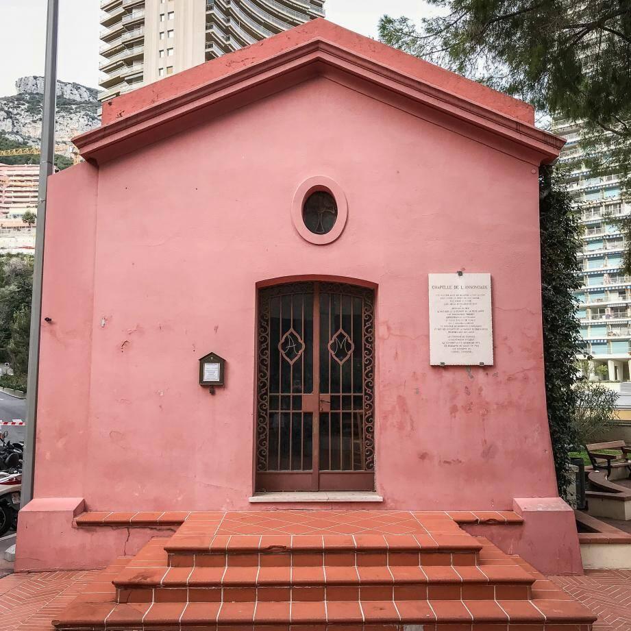 la chapelle de l'Annonciade de nos jours.