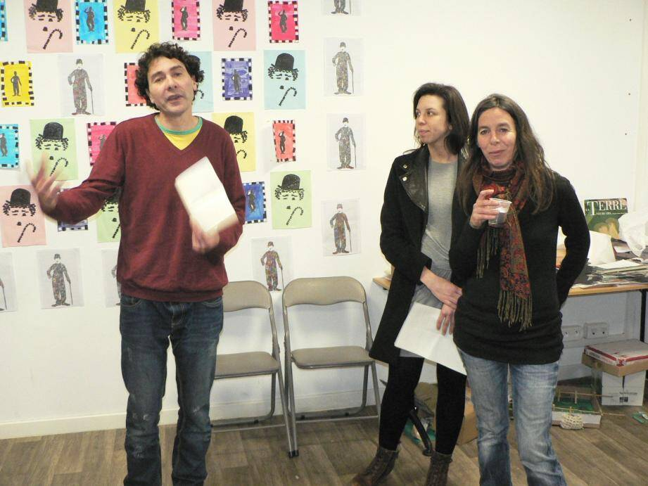 Entouré de son équipe, Aram Constantine a présenté les grandes lignes de son projet.