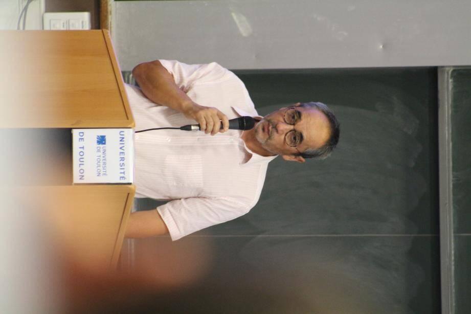 Jean-Paul Péron est directeur de l'UFR Staps à La Garde.