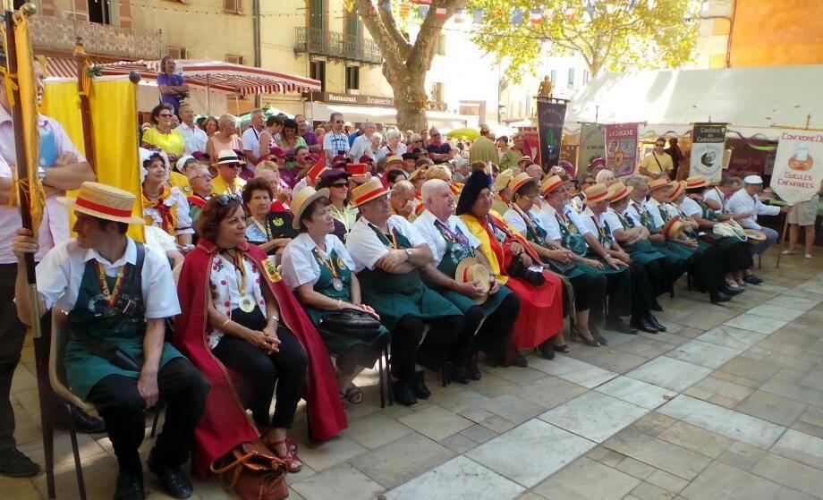 En grande tenue de sortie lors que l'édition 2017 de la fête de la Figue.