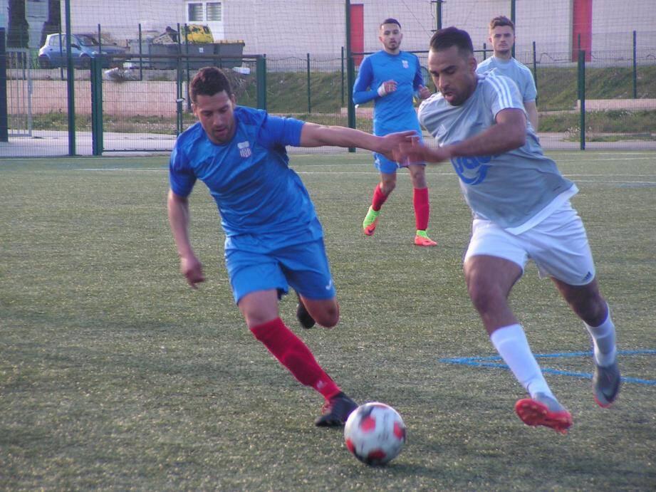 Djellassi et les Gardéens ont été costauds face aux Seynois (0-0).