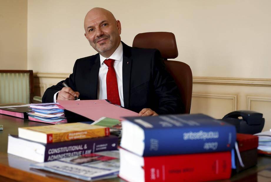 Laurent Anselmi est le nouveau directeur des Service judiciaires de Monaco.