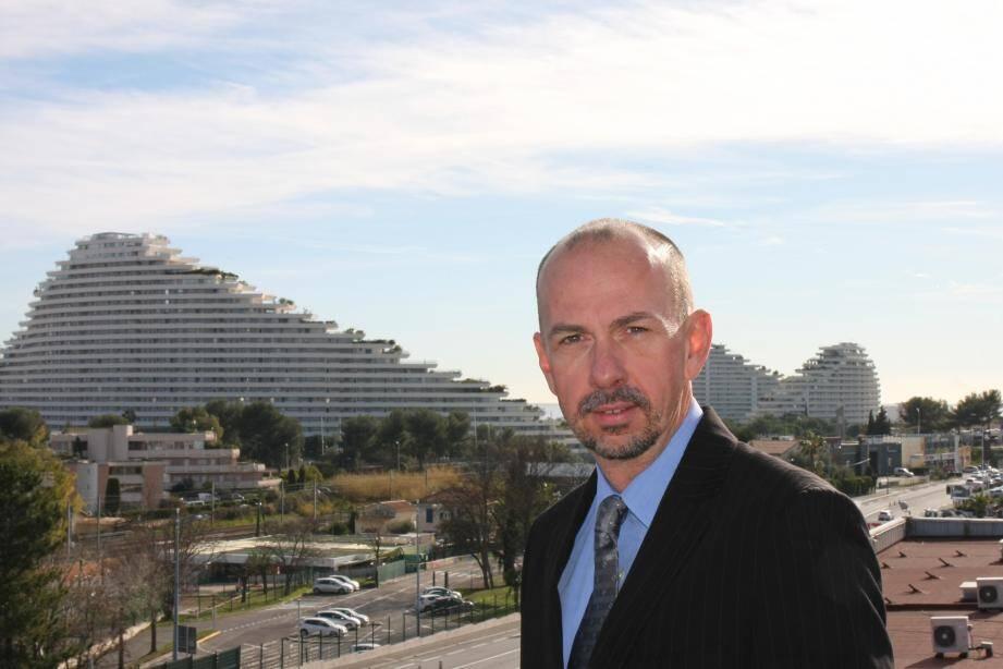 Olivier Boutin, président du Club des entreprises de Villeneuve-Loubet.