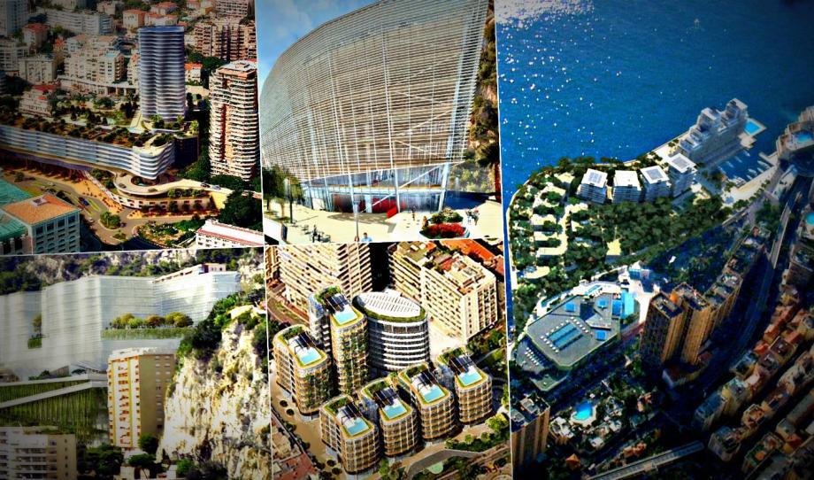 6 ha gagnés sur la mer, le futur le CHPG dans 10 ans, le nouveau quartier Testimonio II..., Monaco va littéralement changer de visage d'ici quelques années