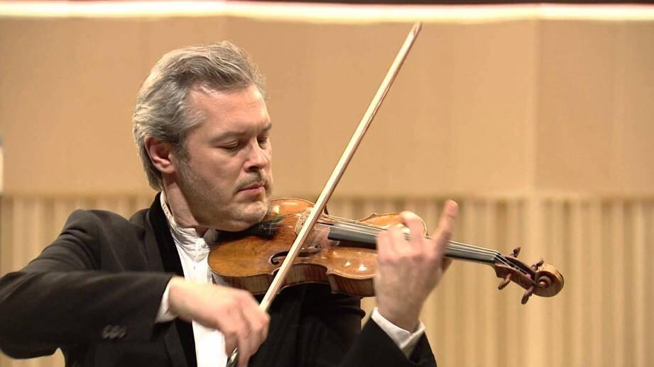 Dimanche, le violoniste Vadim Repin interprétera le 1er concerto de Prokofiev