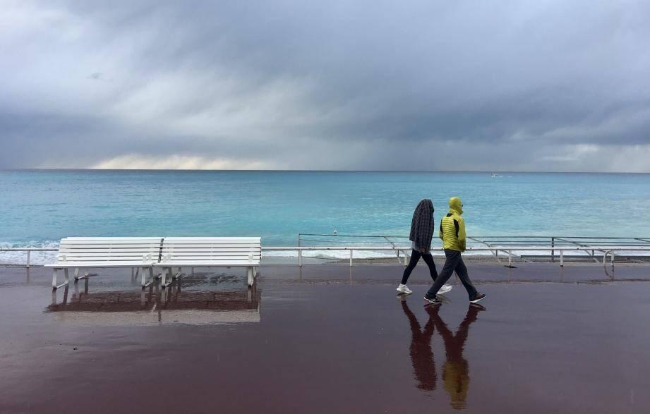 De la pluie attendue sur la Côte d'Azur.