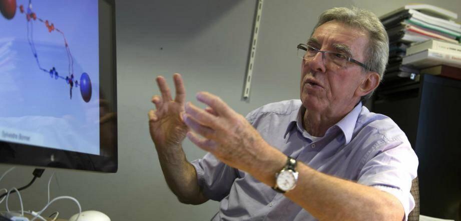 Jean-Pierre Sauvage, prix Nobel de chimie 2016.