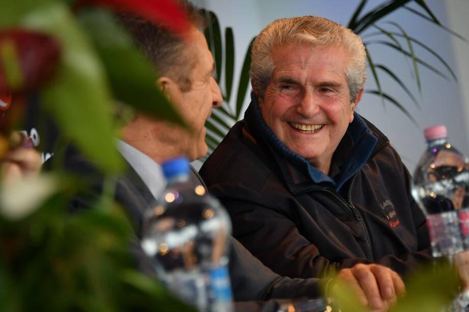 Légende du cinéma, Claude Lelouch, 80 ans, préside cette semaine le festival monégasque.Il a été accueilli par l'organisateur Ezio Greggio.