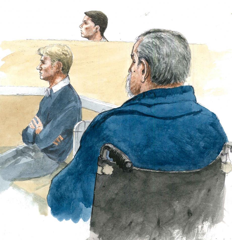 Des trois accusés, la culpabilité des frères Bulinge a été retenue. Girard Pugliese, qui a passé les quatre jours de procès dans un fauteuil roulant, a été acquitté.