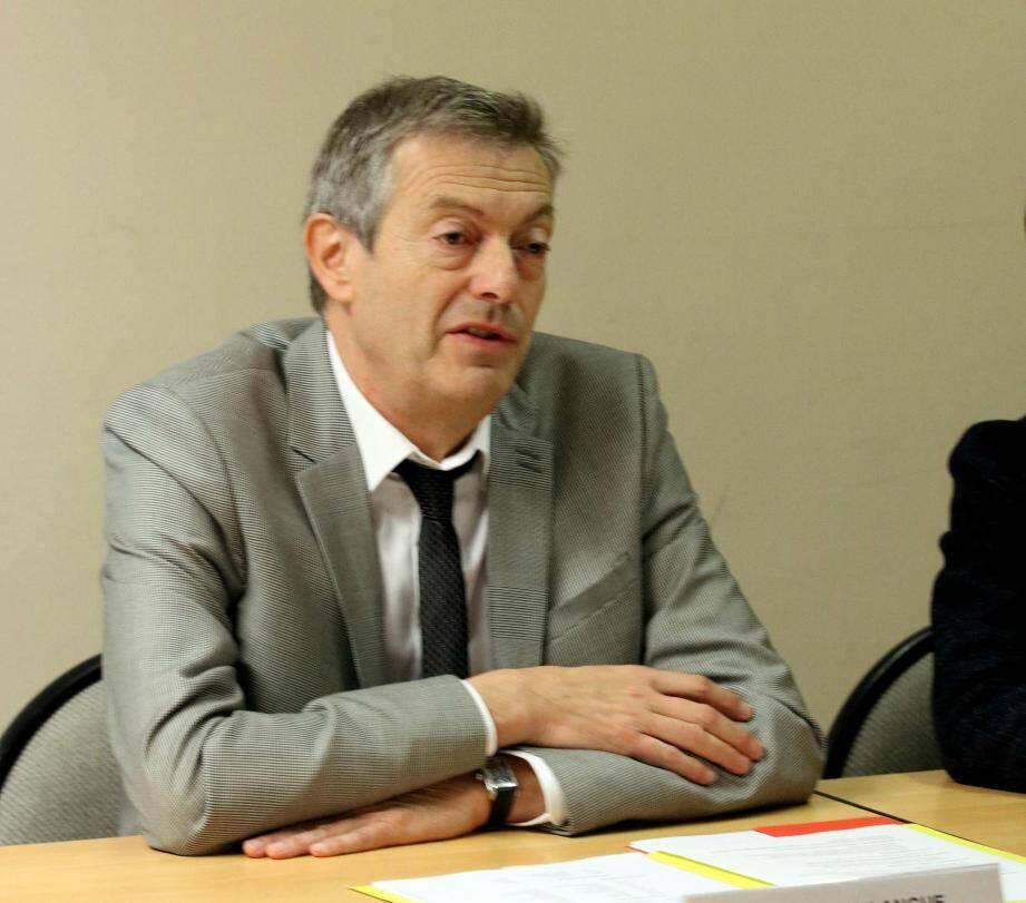 L'inspecteur d'académie Olivier Millangue