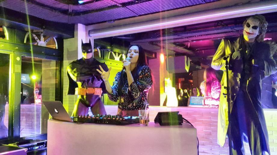Mai Lan lors de son set à La Rascasse samedi dernier.