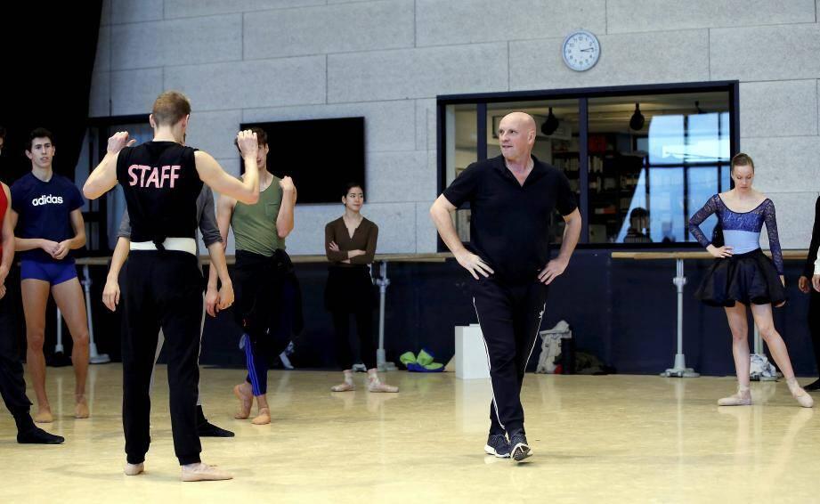 Jean-Christophe Maillot a fait travaillé plus de 800 danseurs et 61 chorégraphes au sein des Ballets de Monte-Carlo