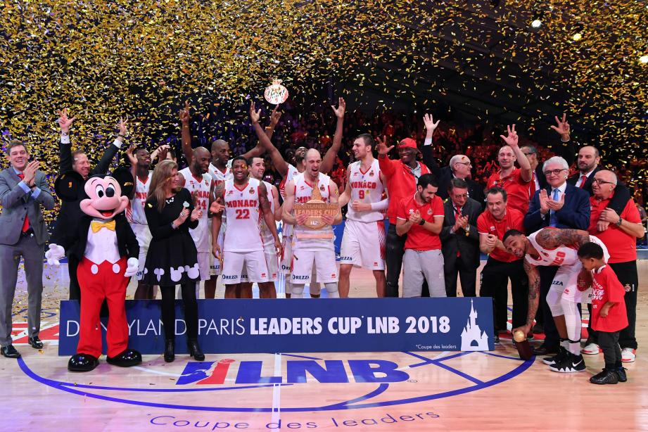 Les Monégasques entrent dans l'histoire du basket français.