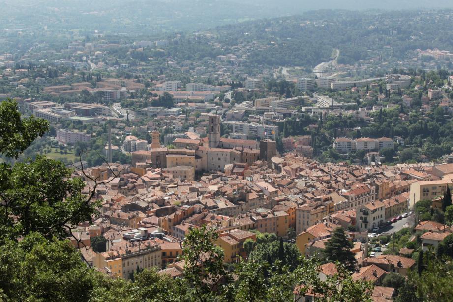 Une vue de Grasse.