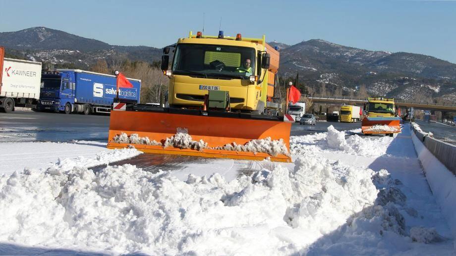 Neige attendue sur les Alpes-Maritimes et le Var.