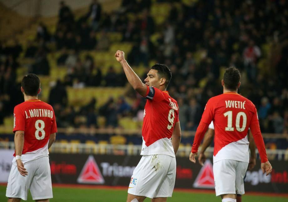 Falcao, Mouthinho, Jovetic: trois des cinq plus gros salaires de l'AS Monaco.