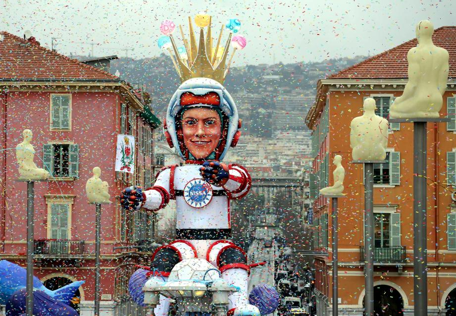 Samedi soir, l'inhumation du roi de l'espace marquera la fin du Carnaval.