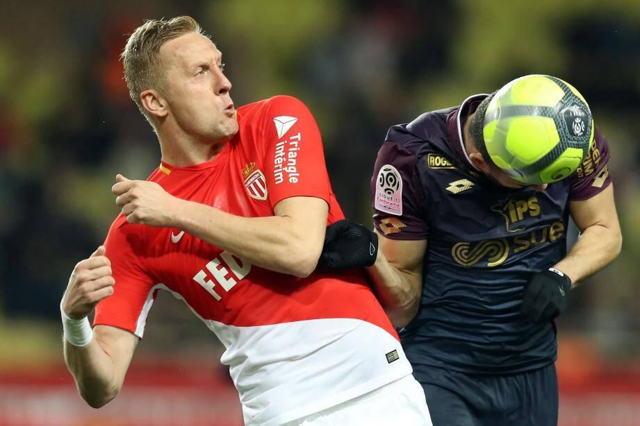 L'AS Monaco menait à la pause.