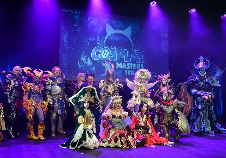 La 4e édition du salon MAGIC s'est tenue la week-end dernier à Monaco avec son fameux concours de cosplay.